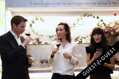 mathilde and-bertrand-thomas in Caudalie Premier Cru Evening with EyeSwoon