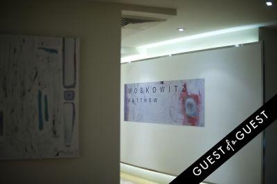 matt moskowitz in Matthew Moskowitz Pop Up Art Reception