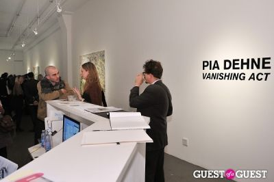 matteo buoncina in Pia Dehne - Vanishing Act Exhibition Opening