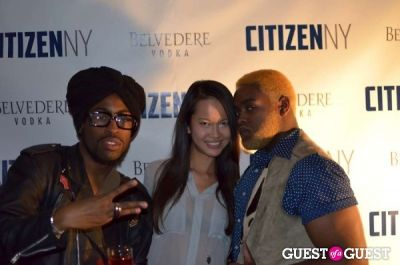 clarence de-vil in Citizen NY Launch at Catch