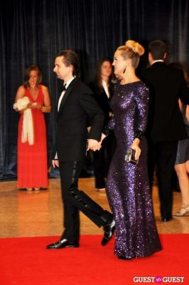 matthew bellamy in The White House Correspondents' Association Dinner 2012