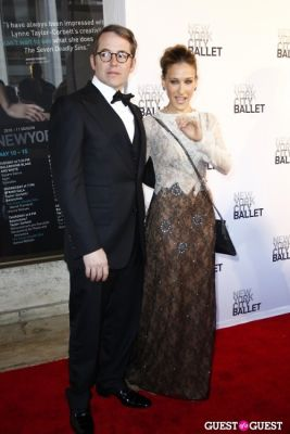 matthew broderick in New York City Ballet Spring Gala 2011
