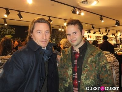 matthew bruch in H&M x Isabel Marant Launch Party