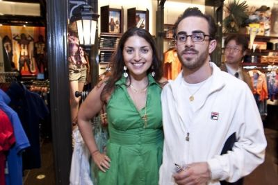 matthew demaio in WHO.A.U Store Opening