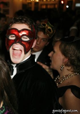 matthew douglas in Masquerade christmas party
