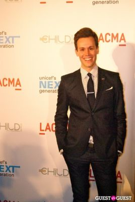 matthew hoffman in UNICEF Next Generation LA Launch Event
