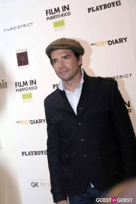 matthew settle in The Rum Diary 102511