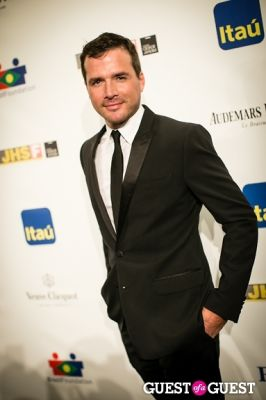 matthew settle in Brazil Foundation Gala at MoMa