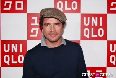 matthew settle in UNIQLO Global Flagship Opening