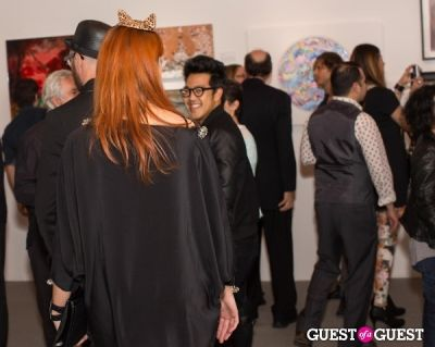 valerj pobega in Cat Art Show Los Angeles Opening Night Party at 101/Exhibit