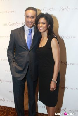maurice dubois in The Gordon Parks Foundation Awards Dinner and Auction