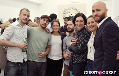 christina norman in Mauro Bonacina exhibition opening reception