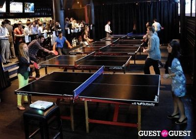 ilana sarna in Ping Pong Fundraiser for Tennis Co-Existence Programs in Israel