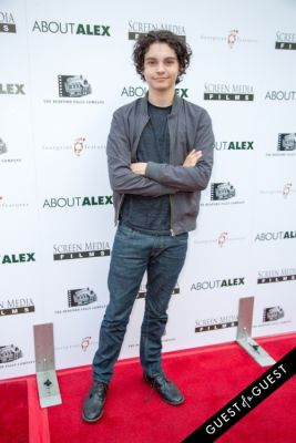 max burkholder in Los Angeles Premiere of ABOUT ALEX