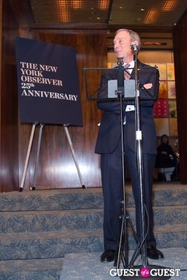 mayor michael-bloomberg in The New York Observer 25th Anniversary