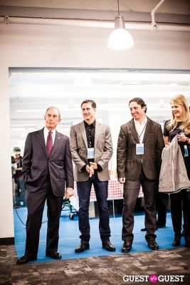 mayor michael-bloomberg in Yext Housewarming Party