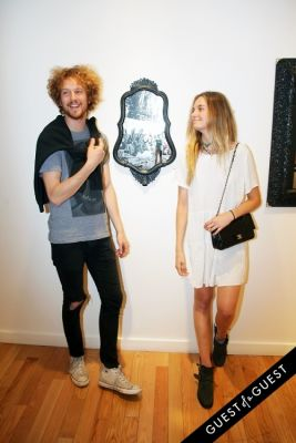bridget malcolm in Art Now NY Opening of