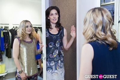 megan evans in The Well Coiffed Closet and Cynthia Rowley Spring Styling Event