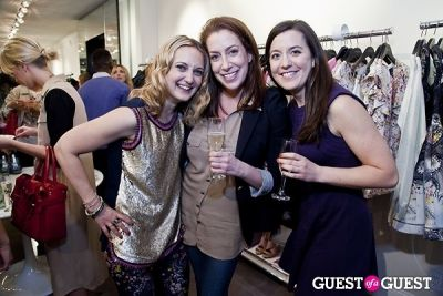 julia farr-janie-haynes in The Well Coiffed Closet and Cynthia Rowley Spring Styling Event