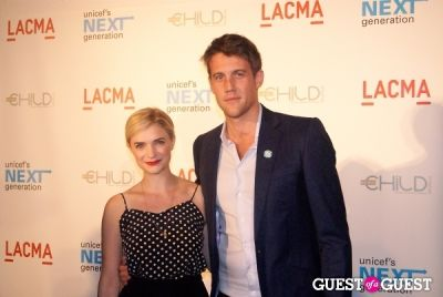nico evers-swindell in UNICEF Next Generation LA Launch Event