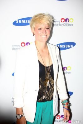 megan rapinoe in Samsung 11th Annual Hope for Children Gala