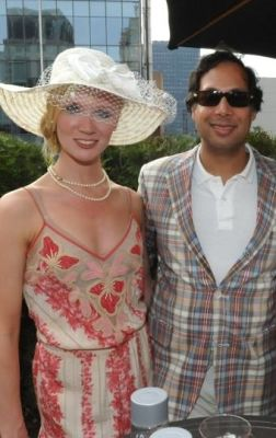 avik roy in MAD46 Kentucky Derby Party
