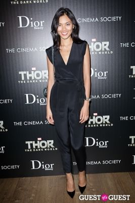 meki saldana in Thor: The Dark World Screening Hosted by The Cinema Society and Dior Beauty
