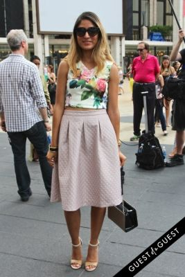 mel rodriguez in NYFW Style From the Tents: Street Style Day 3