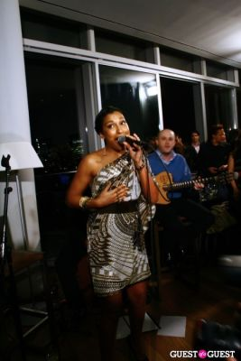 melanie fiona in OK! & Music Unites present Melanie Fiona at the Cooper Square Hotel Penthouse