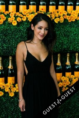 melanie iglesias in The Sixth Annual Veuve Clicquot Polo Classic Red Carpet