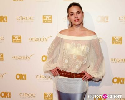 melia kreiling in OK! Magazine's Pre-Grammy Event with Performance by Flo Rida