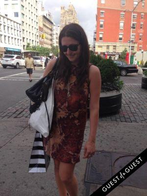 melinda gananian in Summer 2014 NYC Street Style
