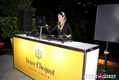 melis kuris in Veuve Clicquot Champagne celebrates Clicquot in the Snow