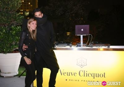 ali a-gurel in Veuve Clicquot Champagne celebrates Clicquot in the Snow