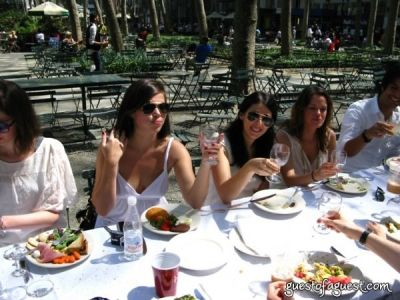 melissa abend in Belgium Brunch in Bryant Park