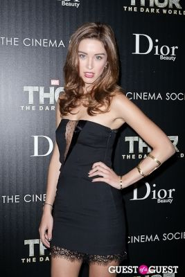 melissa bolona in Thor: The Dark World Screening Hosted by The Cinema Society and Dior Beauty