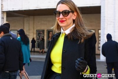 melissa liebling-goldberg in NYFW: Day 5, Street Style