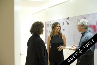 melissa olson in Matthew Moskowitz Pop Up Art Reception