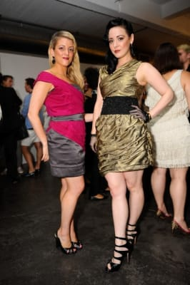 melissa widhson in Keith Lissner Fashion Show