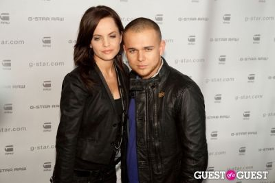 mena suvari in G-Star Raw Runway Show