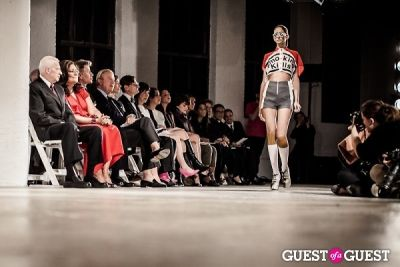 meredith lyon in Pratt Fashion Show 2012