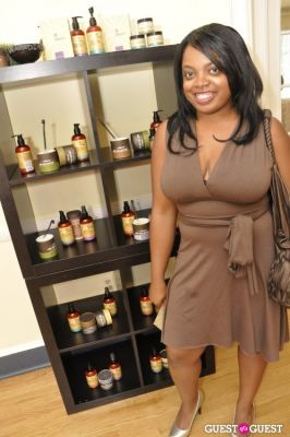 mia hall in Shea Radiance Target Launch Party