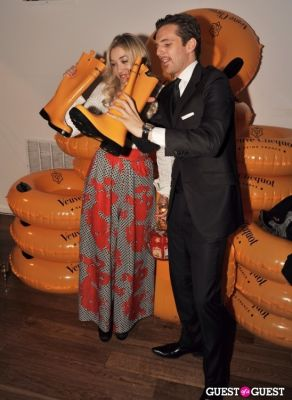 mia moretti in Veuve Clicquot celebrates Clicquot in the Snow