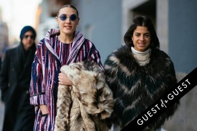 leandra medine in NYFW Street Style Day 4