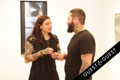 mia tyler in Art Now NY Opening of