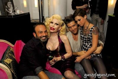 michael angelo in Amanda Lepore Perfume Launch