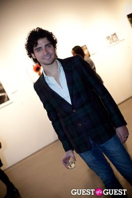 michael barimo in Milk Salon Holiday Concert and Silent Auction