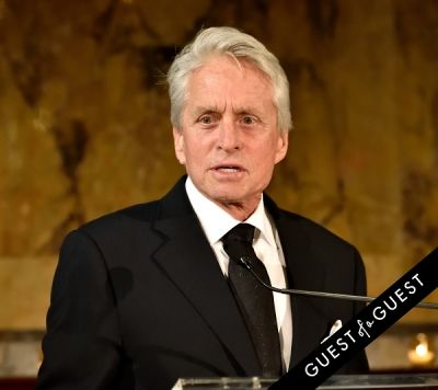 michael douglas in Blue Card Annual Benefit Gala 2015