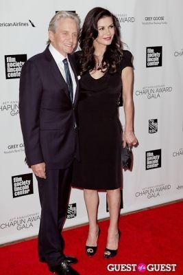 michael douglas in 40th Annual Chaplin Awards honoring Barbra Streisand
