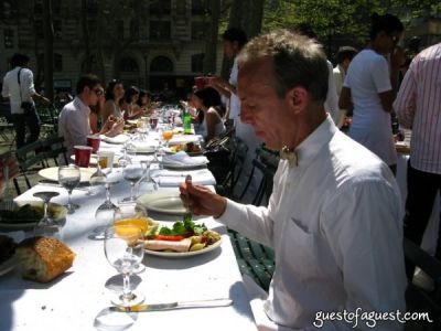 michael ingbar in Belgium Brunch in Bryant Park